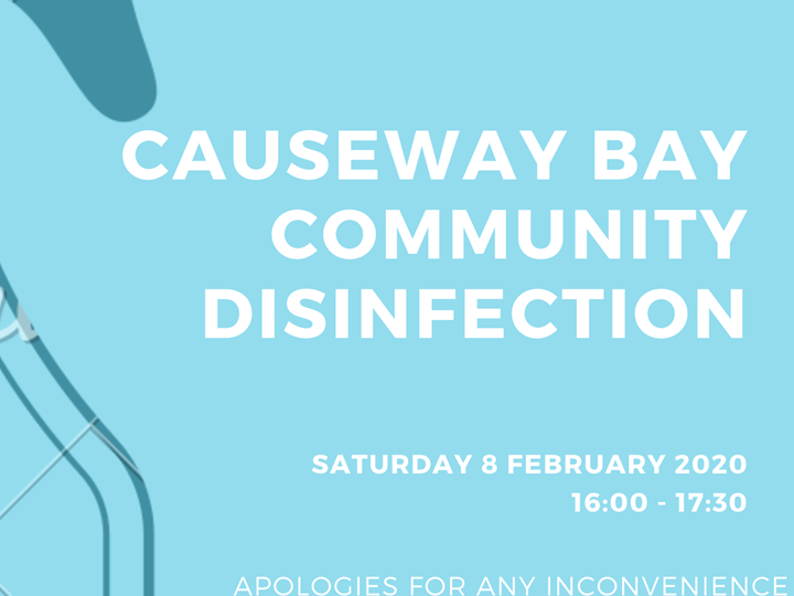 CWB Community Disinfection