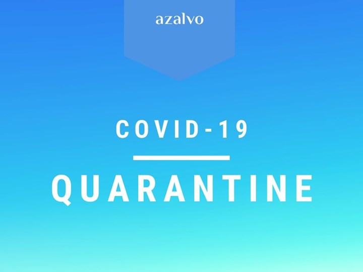 azalvo Policy on COVID-19: Quarantine